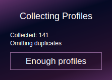 Collecting Profiles