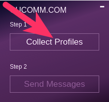 Collect Profiles button